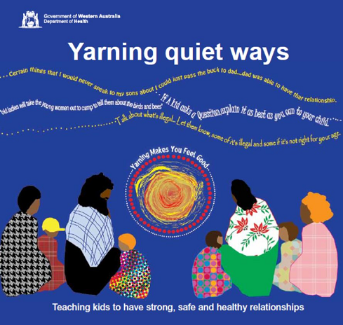 Cover of Yarning Ways booklet